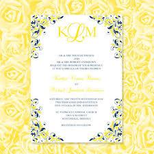 navy blue & yellow wedding invitations kaitlyn Wedding Invitations Navy And Yellow navy blue & yellow wedding invitations \