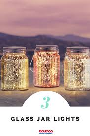 Mini Jar Lights Glass Jar Lights 3 Pack Jar Lights Glass Jars Jar