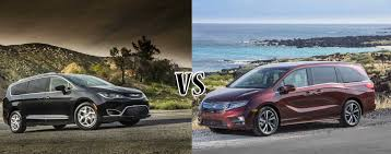 Compare: 2018 Honda Odyssey Vs. Chrysler Pacifica