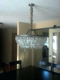 clarissa crystal drop round chandelier chandeliers pottery barn chandelier crystal drop small round clarissa crystal drop