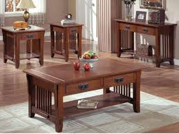 9 best collection of mission style coffee table set home decor intended for designs 19