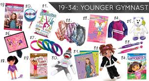 gymnastics gifts for the younger gymnast