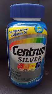 centrum silver for men 200 tablets sept 2019 expiry