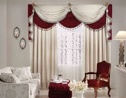 White Living Room Curtains Red And White Living Room Curtains Living Room Design Ideas