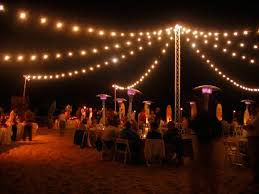 great outdoor party string lights