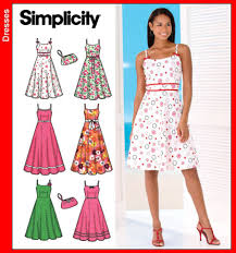 Sundress Patterns Amazing Simplicity 48