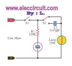 dimmer circuit very cheap ac light dimmer
