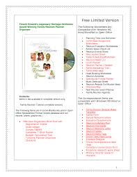 Family Reunion Book Template Family Reunion Ideas Free Family Reunion Planner Genealogy