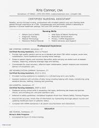 Cna Resume Example New Resume Samples With Linkedin Url New Cna