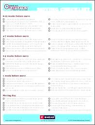 Move Checklist Template List Of Things To Do When Moving A Simplified Moving