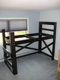 Building A Loft Bed Building Loft Beds For Four Big Guys Op Loftbed