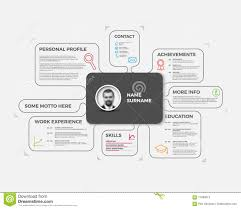 vector original creative cv resume template stock illustration vector original creative cv resume template stock photos