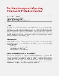 Internal Resume Template 7 Internal Resume Examples Park Attendant