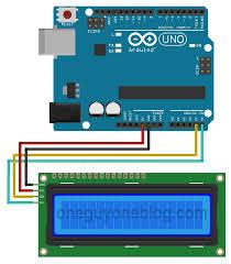 hitachi hd44780. arduino uno with 16x2 hitachi hd44780 i2c module hd44780