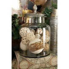 Decorative Clear Glass Jars With Lids 100 in x 100 in Clear Glass Jar with Silver Aluminum Lid3100023 50