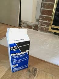 use floor leveler to create a level surface to build a fireplace hearth on the