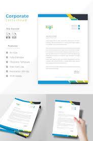 Professional Company Letterhead Design Pro Letterhead Corporate Identity Template