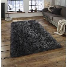 polar charcoal gy rug