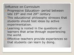 essay on progressivism education