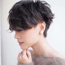どんな髪色もかっこよくキマる真似したいベリーショートの刈り上げ