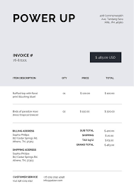 Download Invoice Template Form Free Pictures