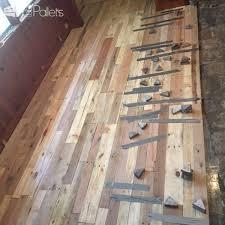 pallet wood floors two ways