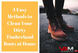 how to clean timberland boots with vinegar try these 4 cleaning methods