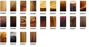 Freetress Wig Color Chart Its A Wig Color Charts