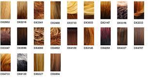 Wig Color Chart Codes Its A Wig Color Charts