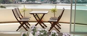 condo outdoor furniture dining table balcony. bouganville dining and sitting area table condo outdoor furniture balcony l