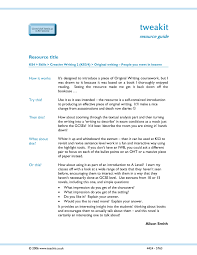 Blessing  English GCSE coursework  creative writing  Short story