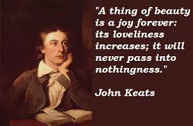 John Keats Quotes A Thing Of Beauty Best of Quotes About Keats 24 Quotes
