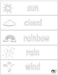 Preschool Weather Worksheets Worksheets for all   Download and ...
