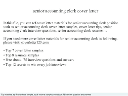 Clerical Position Cover Letter Cover Letter Clerical Clerical Job Cover Letter Accounting Clerk