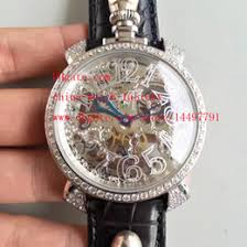 mens diamond watch leather strap online mens diamond watch fashion high quality watch platinum diamond 44mm x 12mm gaga milano skull head leather strap swiss cal 6497 mechanical movement mens watches