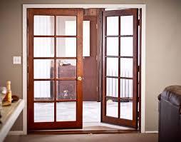 interior french door 5 wooden glass door design