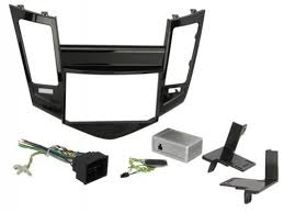 scosche 2011 up chevrolet cruze radio stereo double din install list price 349 00