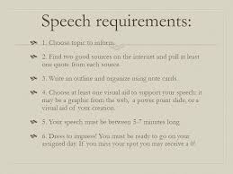 expository speeches  make up a short list by studying the  9 speech