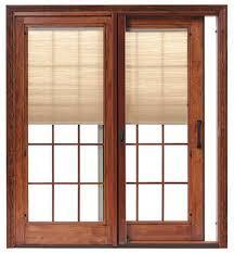 rummy rmastar by pella series clear glass vinyl slidingpatio door
