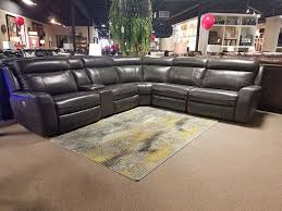 picture of piper leather power reclining sectional