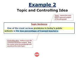 Topic Sentence. - ppt video online download