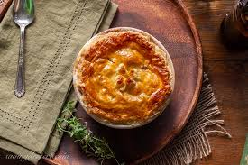 beef and stout pies saving room for
