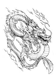 Small Picture Chinese dragon China Asia Coloring pages for adults JustColor