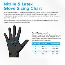 Mil Thickness Chart Modern Grip 18195 Xl Nitrile 8 Mil Thickness Premium Disposable Heavy Duty Gloves Industrial And Household Powder Free Latex Free Diamond