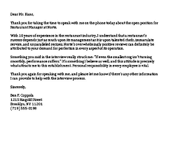 Thank You Letter For Telephone Interview Sample Thank You Letter After Phone Interview Mous Syusa