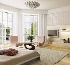 Contemporary Modern Bedroom in Neutrals Bedroom Decorating Ideas