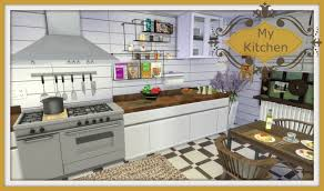 Sims Kitchen Sims 4 My Kitchen Dinha