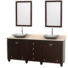 Bathroom Sink And Cabinet 80 Double Sink Bathroom Vanities Bath The Home Depot