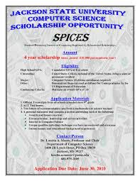 Computer Science Scholarships At Jackson State University