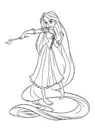 Small Picture Disney Tangled Coloring Pages Get Coloring Pages